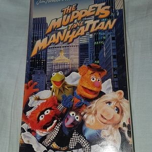 🕸5 for $25🕸VHS 2 Muppets movies